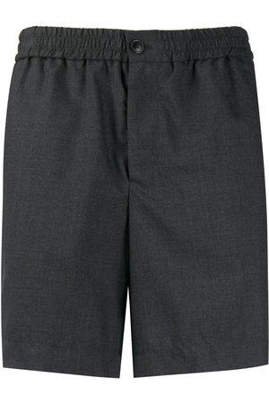 Ami Elasticated waist bermuda shorts - Grey