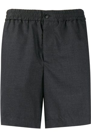 Ami Men Bermudas - Elasticated waist bermuda shorts - Grey