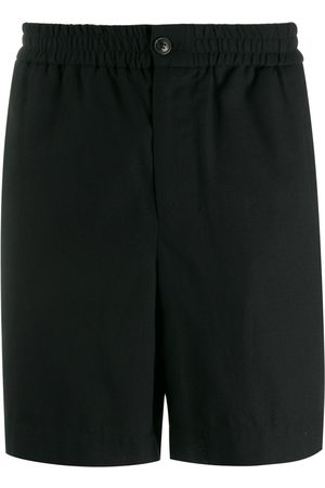 AMI Paris Elasticated waist bermuda shorts