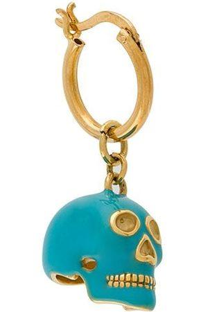 TRUE ROCKS Men Hoop - Small skull hoop earring