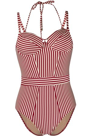 Marlies Dekkers Striped vintage-style one piece - Neutrals