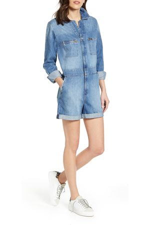 Lee Women's Unionall Denim Shortalls