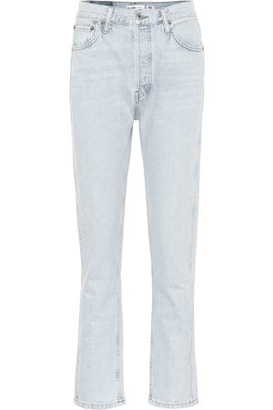 RE/DONE 50s Cigarette high-rise jeans