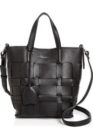 3.1 Phillip Lim Odita Mini Modern Small Lattice Leather Bucket Bag