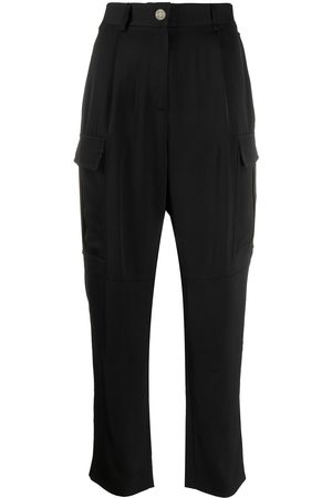 Calvin Klein Women Pants - Side pockets high waisted trousers