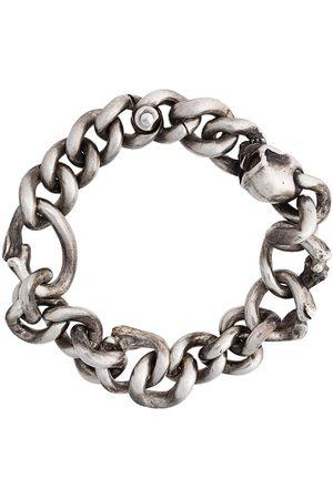 WERKSTATT:MÜNCHEN Bone chain bracelet - Metallic
