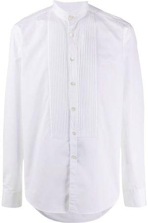 DELL'OGLIO Mandarin collar shirt
