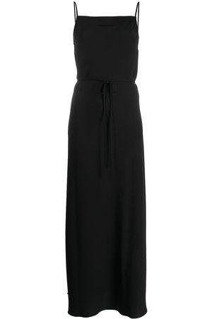 Calvin Klein Logo back tie front camisole dress