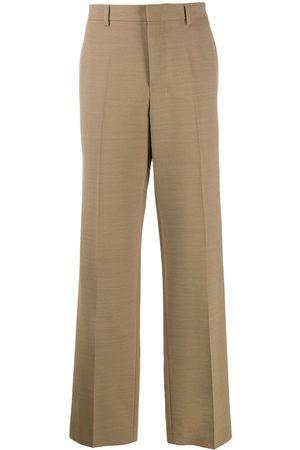 AMI Paris Wide-leg trousers - Neutrals