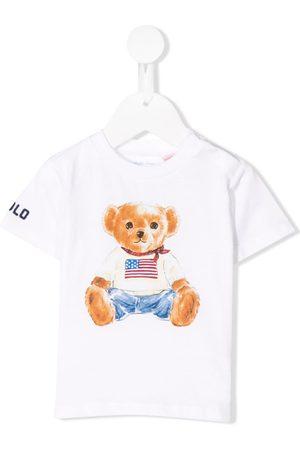Ralph Lauren Teddy bear print T-shirt