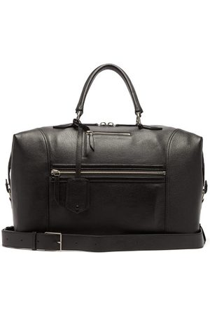 Metier London Vagabond Grained-leather Holdall - Mens