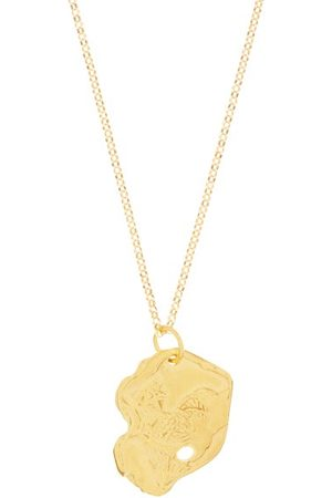 Alighieri The Rooster 24kt -plated Necklace - Womens