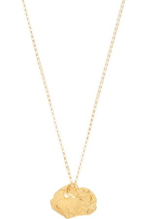 Alighieri The Pig 24kt -plated Necklace - Womens