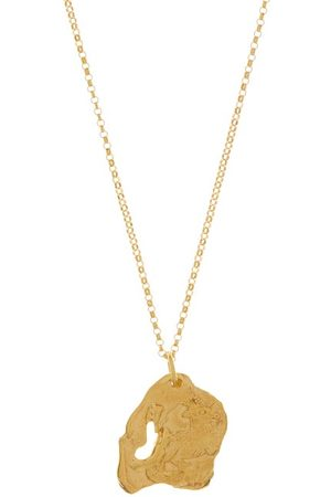 Alighieri The Goat 24kt -plated Necklace - Womens