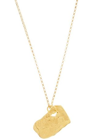 Alighieri The Ox 24kt -plated Necklace - Womens