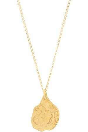 Alighieri The Snake 24kt -plated Necklace - Womens