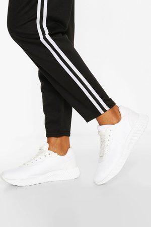 Boohoo Womens Basic Sports Sneakers - - 5