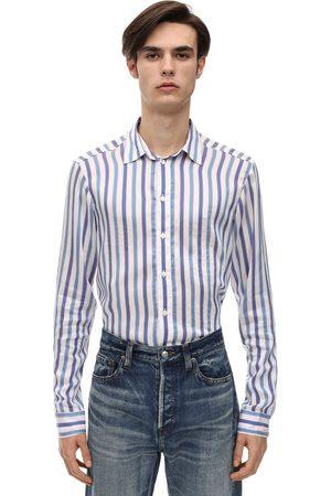 FAITH CONNEXION Striped Cotton Poplin Shirt