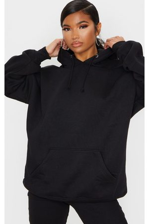 PRETTYLITTLETHING Oversized Pocket Front Drawstring Hoodie