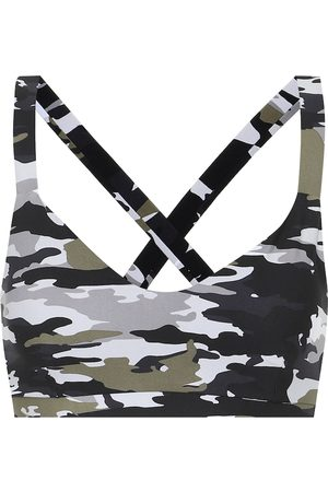 The Upside Sophie camo-print sports bra