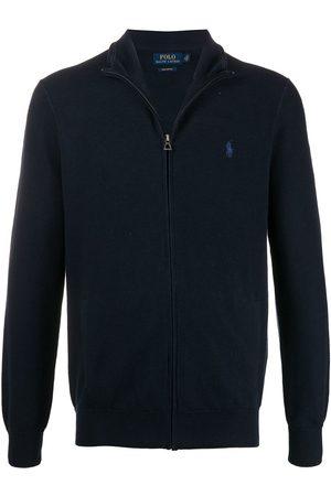 Polo Ralph Lauren Men Sweatshirts - Zip through pique cotton jumper