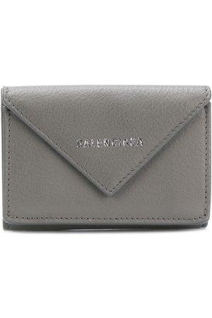 Balenciaga Mini Paper wallet - Grey