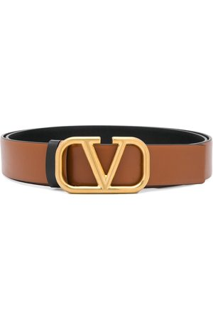 VALENTINO GARAVANI Women Belts - VLOGO reversible belt