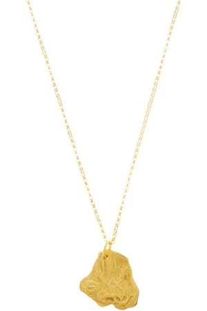 Alighieri Monkey 24kt -plated Pendant Necklace - Womens