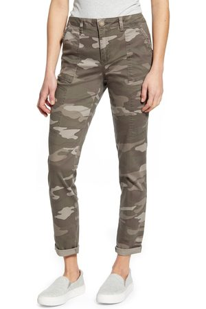 Wit & Wisdom Women's Flex-Ellent Camo High Waist Cargo Pants