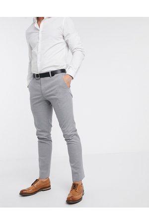 River Island Skinny suit pants in -Grey