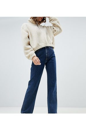 Weekday Row organic cotton high waist jeans in win