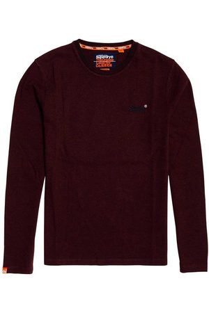 Superdry Orange Label Jacquard Texture XXL Buck Burgundy Texture