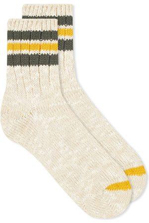 ANONYMOUS ISM 3 Line Slub Sock