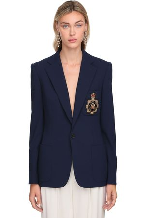 Ralph Lauren Light Wool Blend Single Breasted Jacket