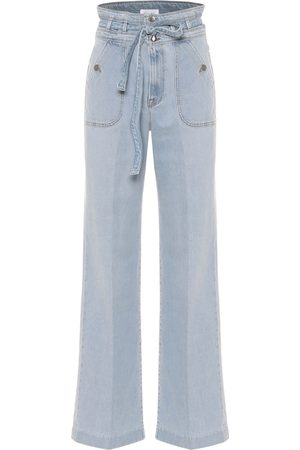 Frame Ali high-rise wide-leg jeans
