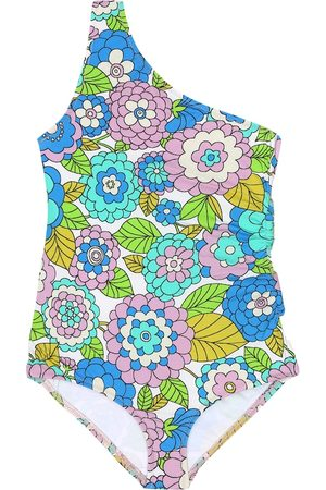 DODO BAR OR Floral one-shoulder swimsuit