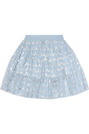 Stella McCartney Printed tulle skirt