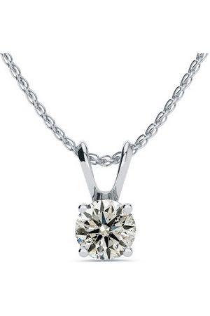 SuperJeweler Women Necklaces - 1/2 Carat 14k (1 Gram) Diamond Pendant Necklace1/2 Carat 14k (1 Gram) Diamond Pendant Necklace