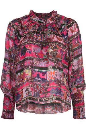 CHUFY Women Shirts - Cusco floral patterned shirt