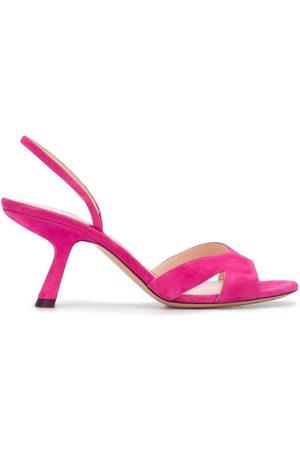 Nicholas Kirkwood Women Sandals - LEXI slingback sandals 70mm