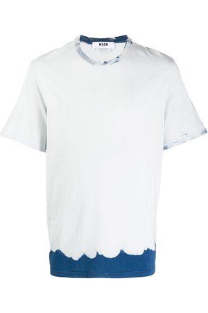 MSGM Tie dye-print cotton T-shirt - Grey