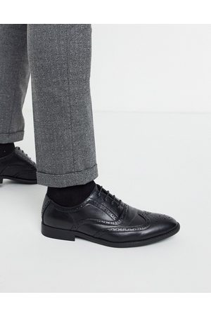 ASOS Brogue shoes in faux leather