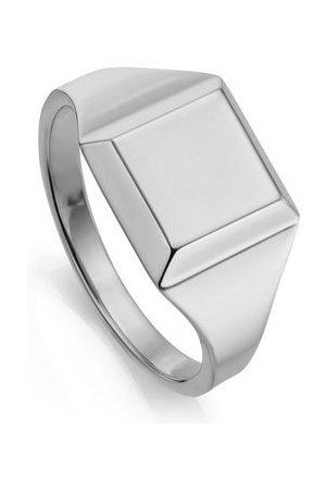 Monica Vinader Sterling Silver Signature Signet Ring