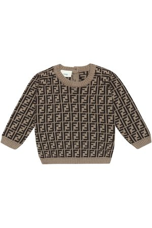 Fendi Baby FF-jacquard sweater