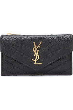 Saint Laurent Envelope Small leather wallet