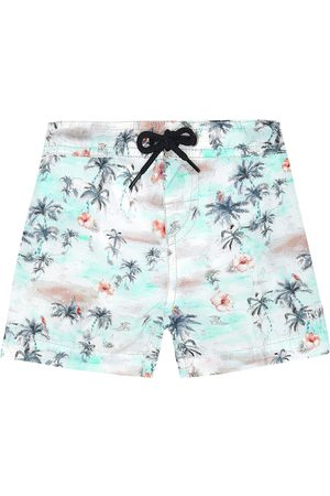 BONPOINT Baby Nautic printed swim trunks