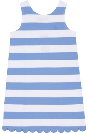 Ralph Lauren Striped cotton-blend dress