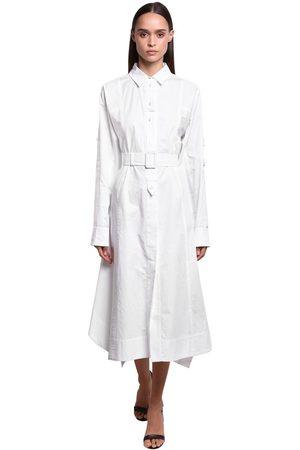 Sportmax Cotton Poplin Shirt Dress