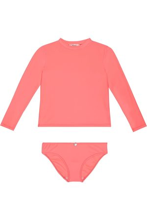 BONPOINT Rashguard and bikini bottom set
