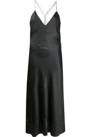 Natasha Zinko Contras-panel midi dress